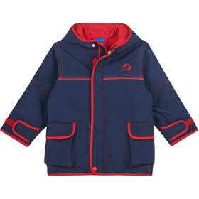 Finkid Tuulis Outdoor Parka Kinderen, navy/red